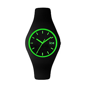 Ice-Watch Ladies' Green & Black Silicone Strap Watch - Product number 1429299
