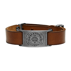 Fossil Casual Men's Tan Leather Bracelet - Product number 1429663