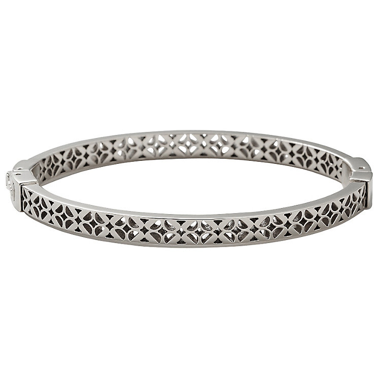 Fossil Stainless Steel Signature Bangle - Product number 1429914