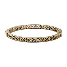Fossil Gold-Plated Stainless Steel Bangle - Product number 1429965