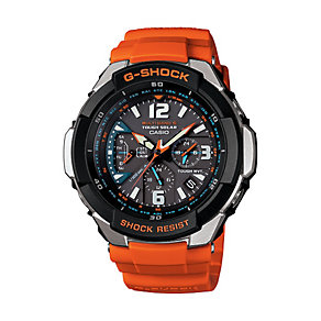 Casio G-Shock Men's Orange Resin Bracelet Watch - Product number 1430009