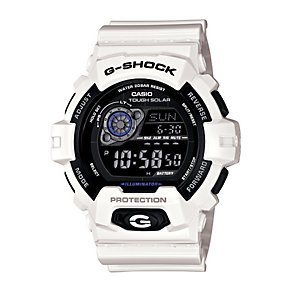 Casio G-Shock Men's Black Dial White Resin Bracelet Watch - Product number 1430025
