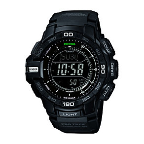 Casio ProTrek Men's Black Resin Bracelet Watch - Product number 1430092