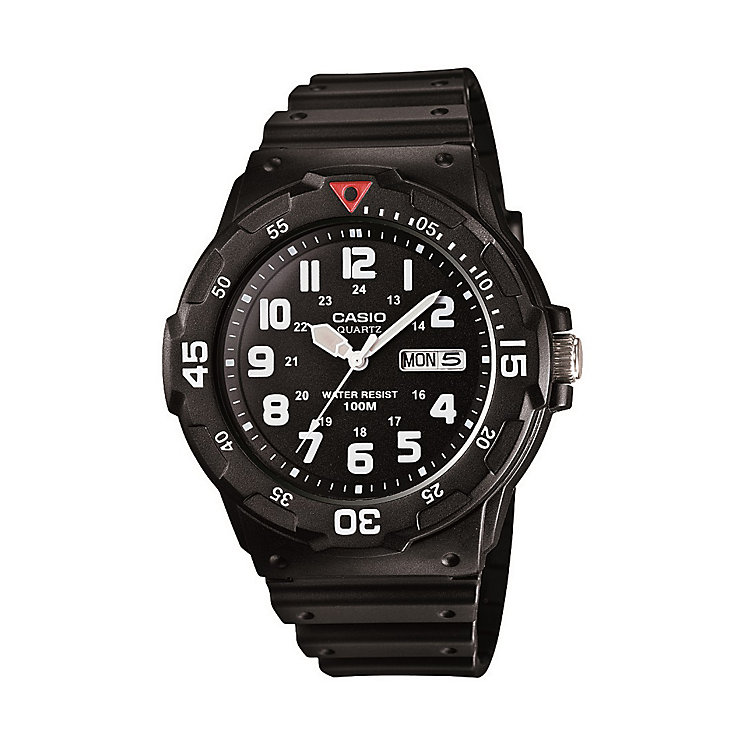 Casio men's black resin strap watch - Product number 1430165