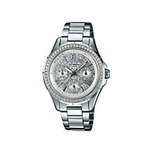 Casio Sheen Ladies' Stainless Steel Bracelet Watch - Product number 1430343