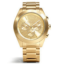Coach Tristen ladies' gold-tone bracelet watch - Product number 1430742