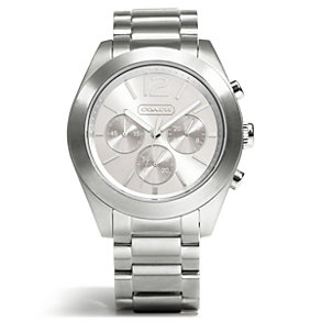 Coach Tristen ladies' stainless steel bracelet watch - Product number 1430785