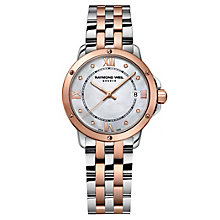 Raymond Weil Tango ladies' two colour diamond bracelet watch - Product number 1433059