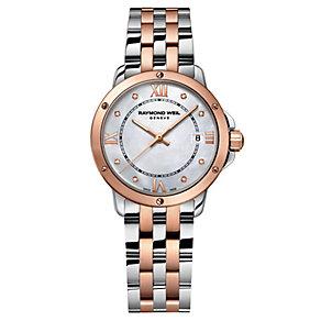Raymond Weil Tango ladies' two colour diamond bracelet watch - Product number 1433059