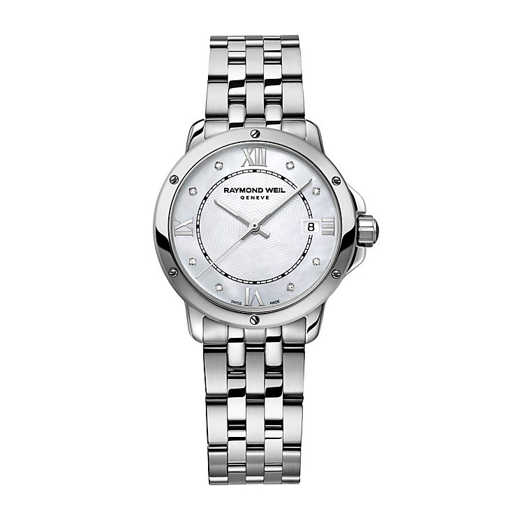 Raymond Weil ladies' stainless steel bracelet watch - Product number 1433091