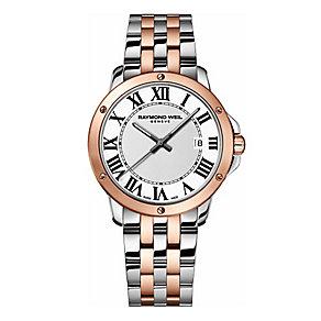 Raymond Weil ladies' two colour diamond set bracelet watch - Product number 1433121