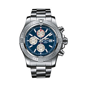 Breitling Super Avenger men's stainless steel bracelet watch - Product number 1433237