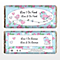 Personalised Floral Bird Chocolate Bar - Product number 1433997
