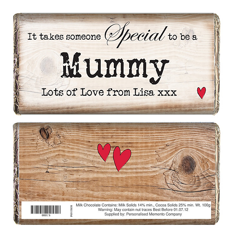 Personalised Someone Special Chocolate Bar - Product number 1434403