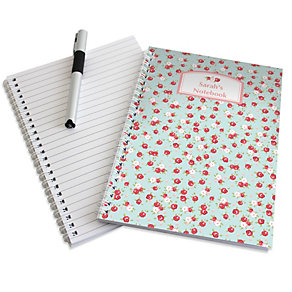 Personalised Vintage Floral Notebook - Product number 1434446