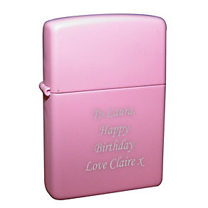 Engraved Pink Lighter - Product number 1434578