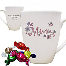Personalised Flowers And Butterflies Mug - Product number 1434594