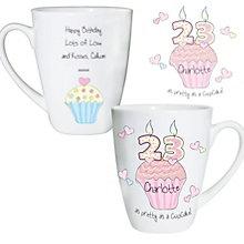 Personalised Cupcake Numbers Mug - Product number 1434667