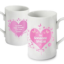 Personalised Someone Special Pink Mug - Product number 1434756