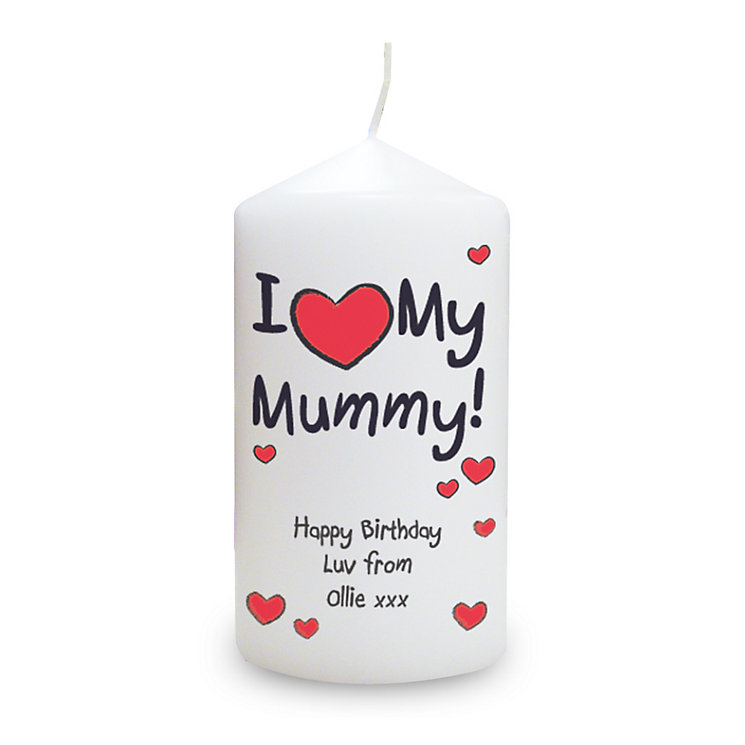 Personalised I Heart My Candle - Product number 1434845