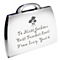 Engraved Flowers Handbag Compact - Product number 1434977