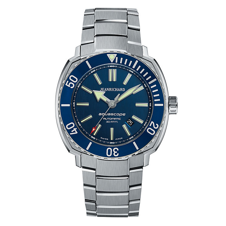 JEANRICHARD Aeroscope men's titanium bracelet watch - Product number 1437852