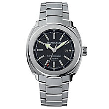 JEANRICHARD Terrascope men's stainless steel bracelet watch - Product number 1437879