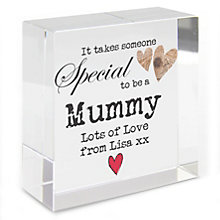 Personalised Someone Special Crystal Token - Product number 1438107