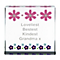 Personalised Floral Large Crystal Token - Product number 1438476