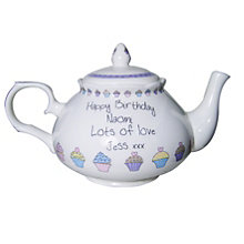Personalised Cupcake Design Teapot - Product number 1438638
