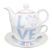 Personalised Union Jack Tea For One - Product number 1438646