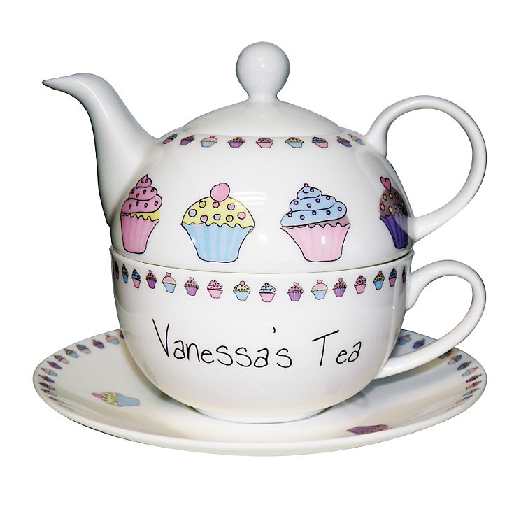 Personalised Cupcake Tea For One - Product number 1438654