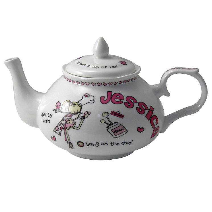 Personalised Bang on the Door Dainty Dish Teapot - Product number 1438727