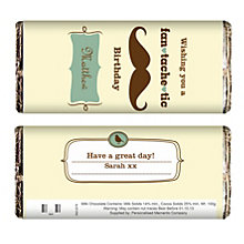Personalised Fan Tache Tic Chocolate Bar - Product number 1438964