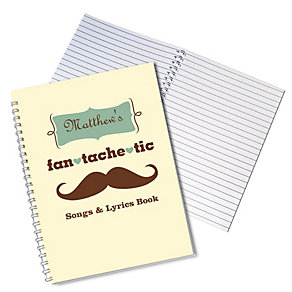 Personalised Fan Tache Tic A5 Notebook - Product number 1438999