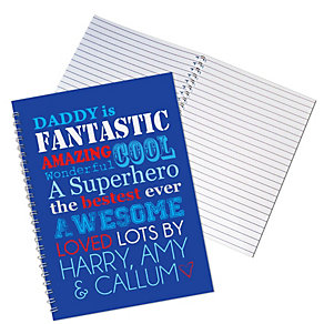 Personalised He Is....A5 Notebook - Product number 1439006