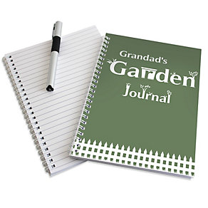 Personalised A5 Garden Notebook - Product number 1439014