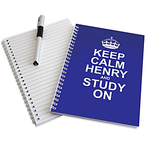 Personalised Keep Calm Notebook - Product number 1439022