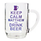 Personalised Keep Calm Pint Tankard - Product number 1439456