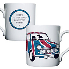Personalised Union Jack Mini Mug - Product number 1439472