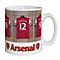 Personalised Arsenal Dressing Room Mug - Product number 1439510