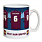 Personalised West Ham United Dressing Room Mug - Product number 1439529