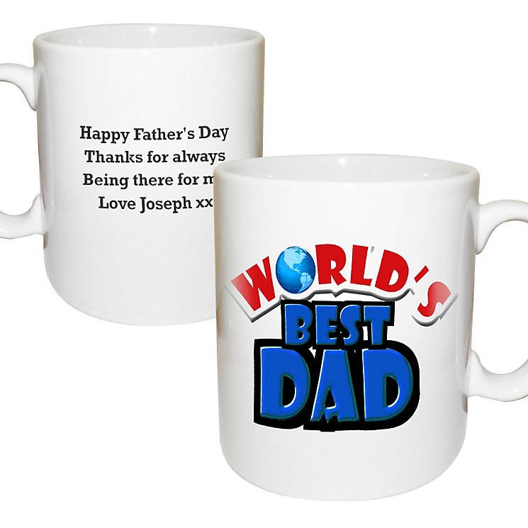 Personalised World's Best Mug - Product number 1439537