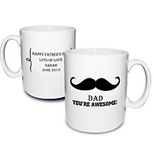 Personalised Moustache Mug - Product number 1439618