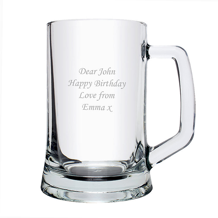 Personalised Stern Tankard - Product number 1439855