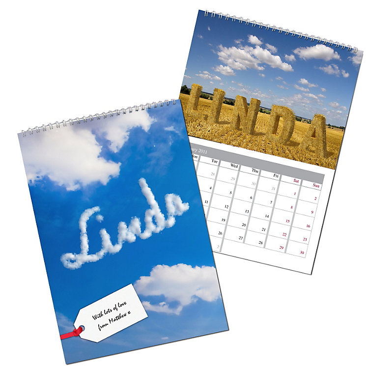 Personalised Great Outdoors Calendar - Product number 1439898