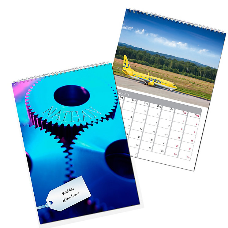 Personalised For Him Calendar - Product number 1439944