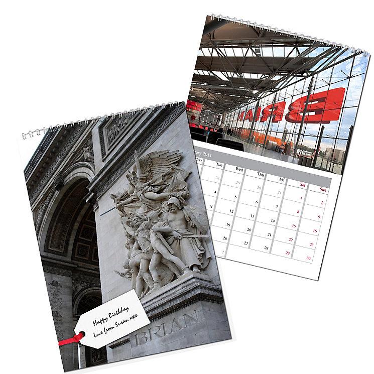 Personalised Big Buildings Calendar - Product number 1439960