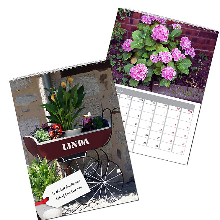 Personalised Gardeners Calendar - Product number 1439987