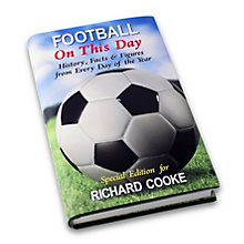 Personalised Football On This Day Book - Product number 1440039